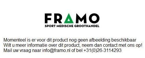 FRAMO transparante bidon 750 ml met groene schroefdop