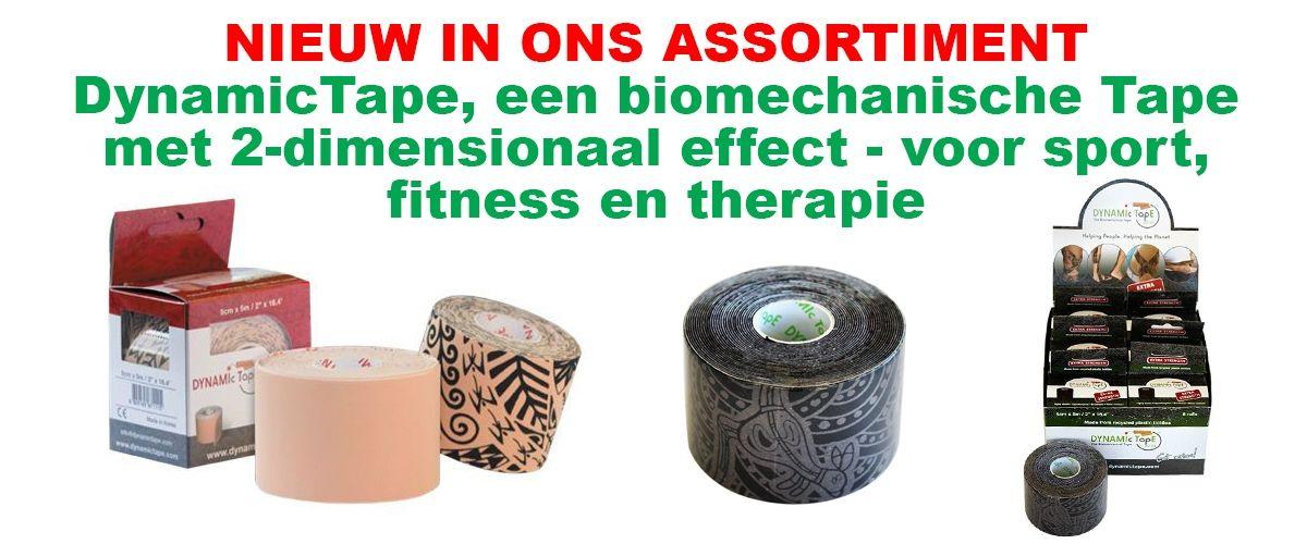 DynamicTape besteld u voordelig bij FRAMO Sport Medische Groothandel